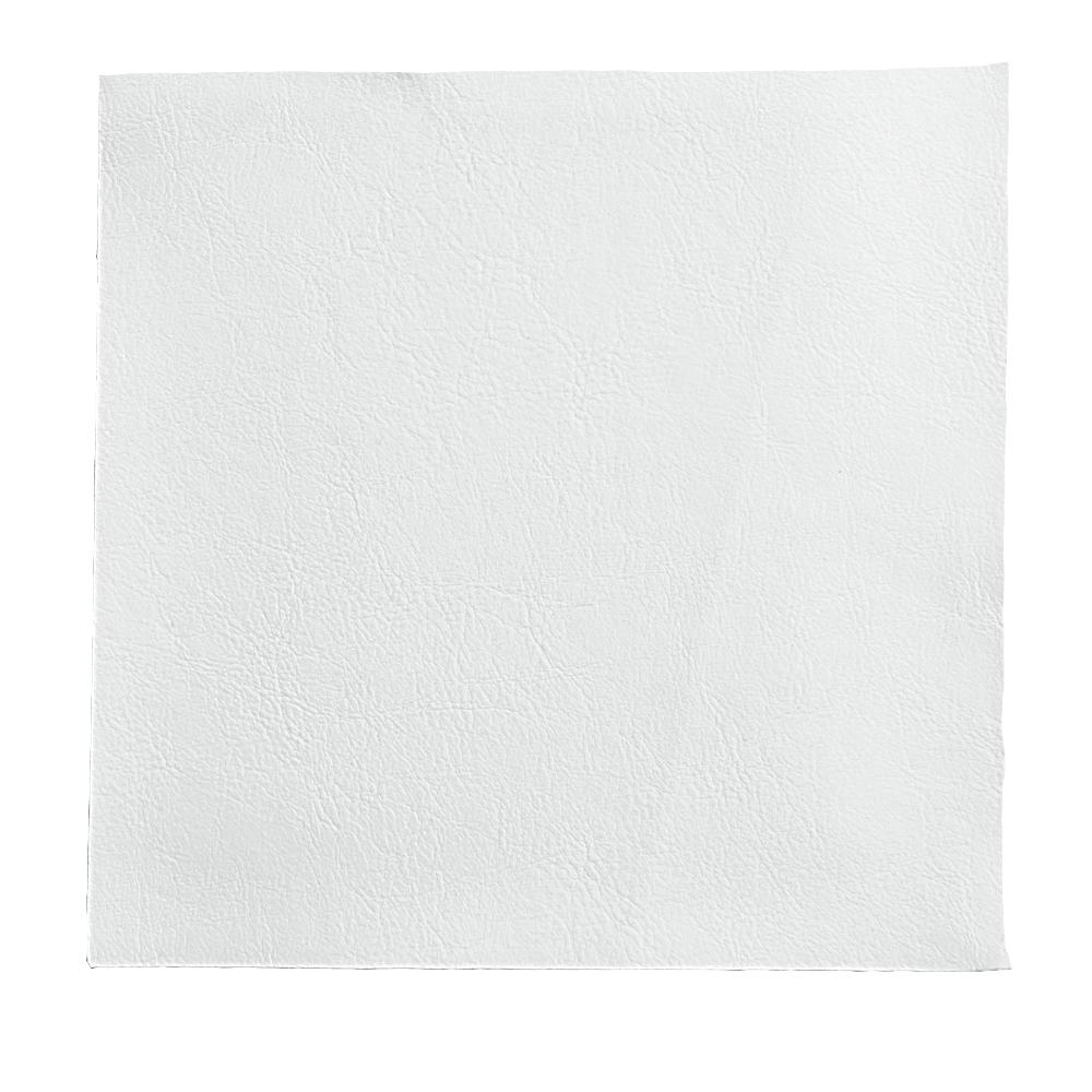 Leather-like Ice White